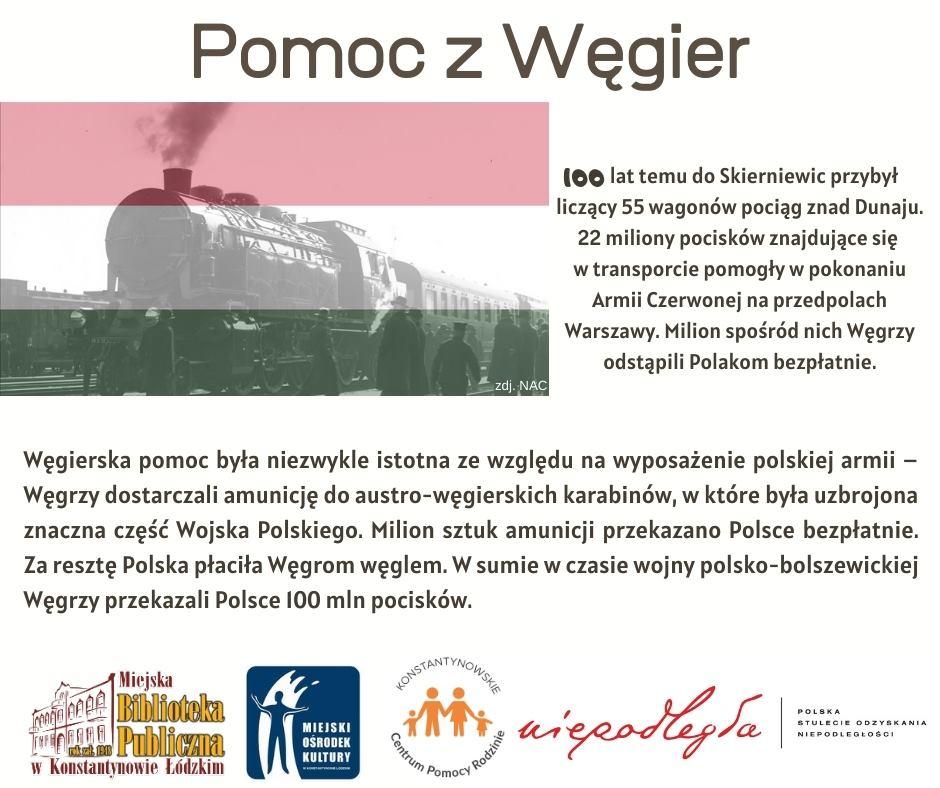 pomoc z Węgier