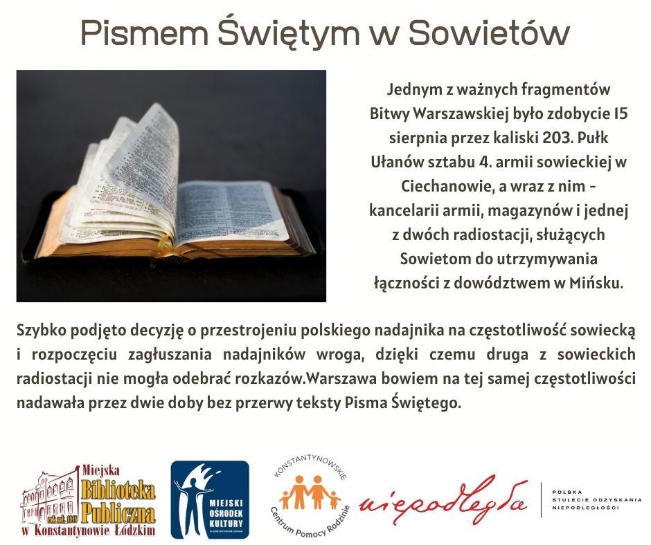 Pismo święte sowietów