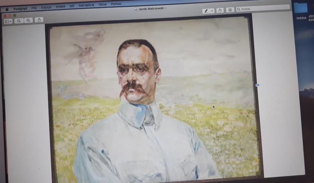 Jozef Piłsudski w portrecie